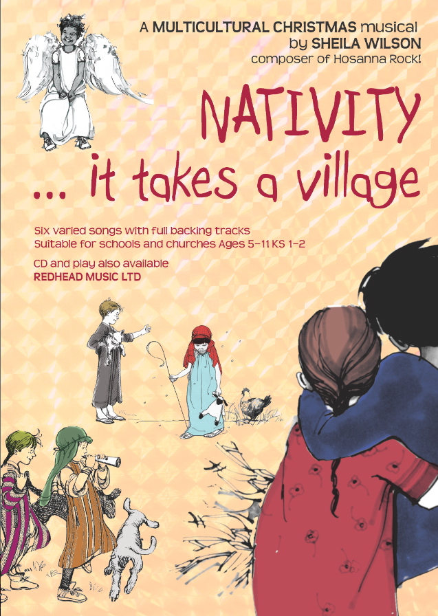 Nativity ... it takes a village by Sheila Wilson