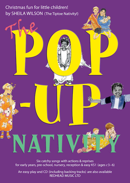 THE POP-UP NATIVITY! by Sheila Wilson