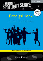 Prodigal rock! by Sheila Wilson